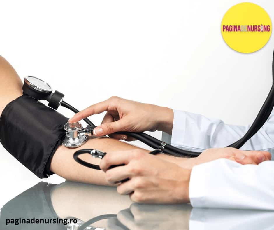 masurarea tensiunii arteriale pagina de nursing amg