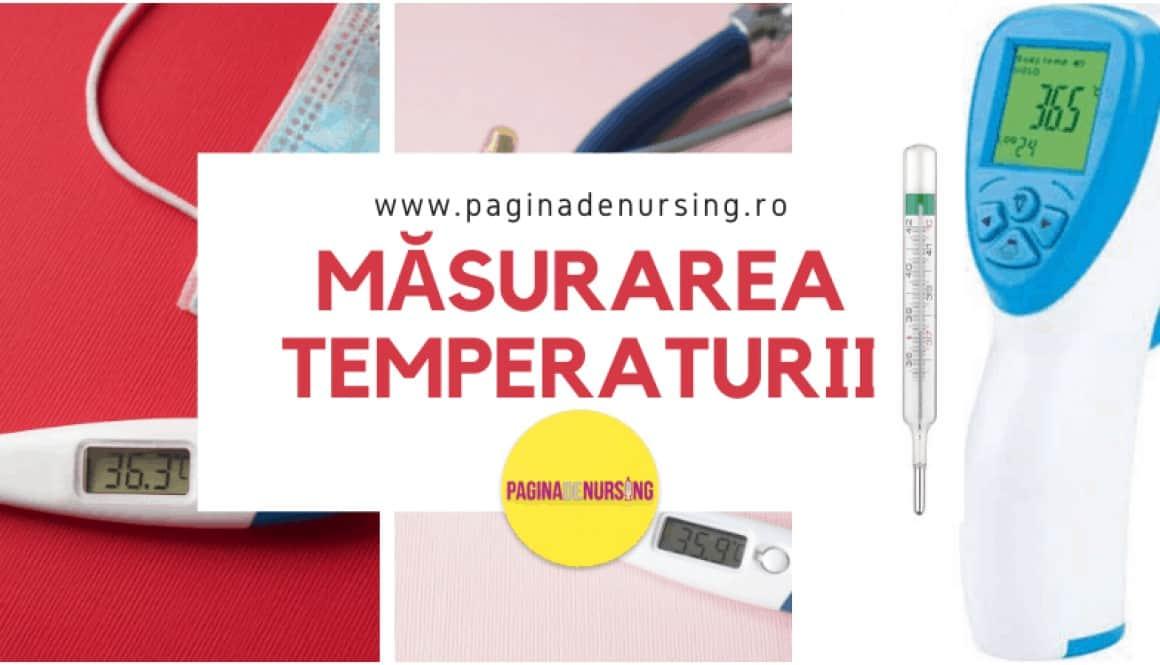 masurarea temperaturii pagina de nursing