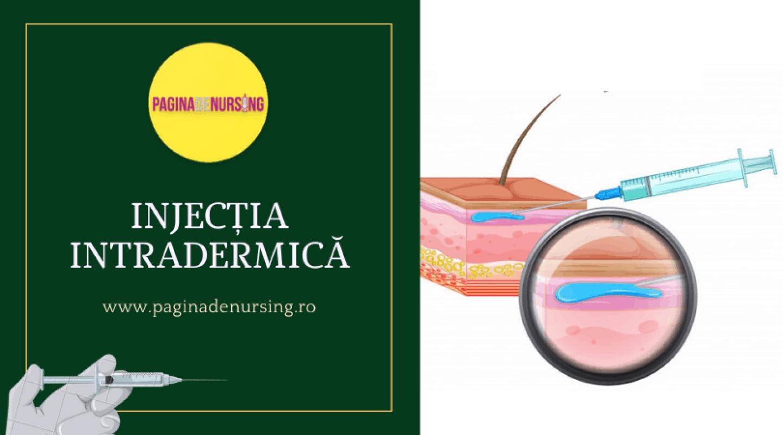 INJECTIA INTRADERMICA PAGINA DE NURSING