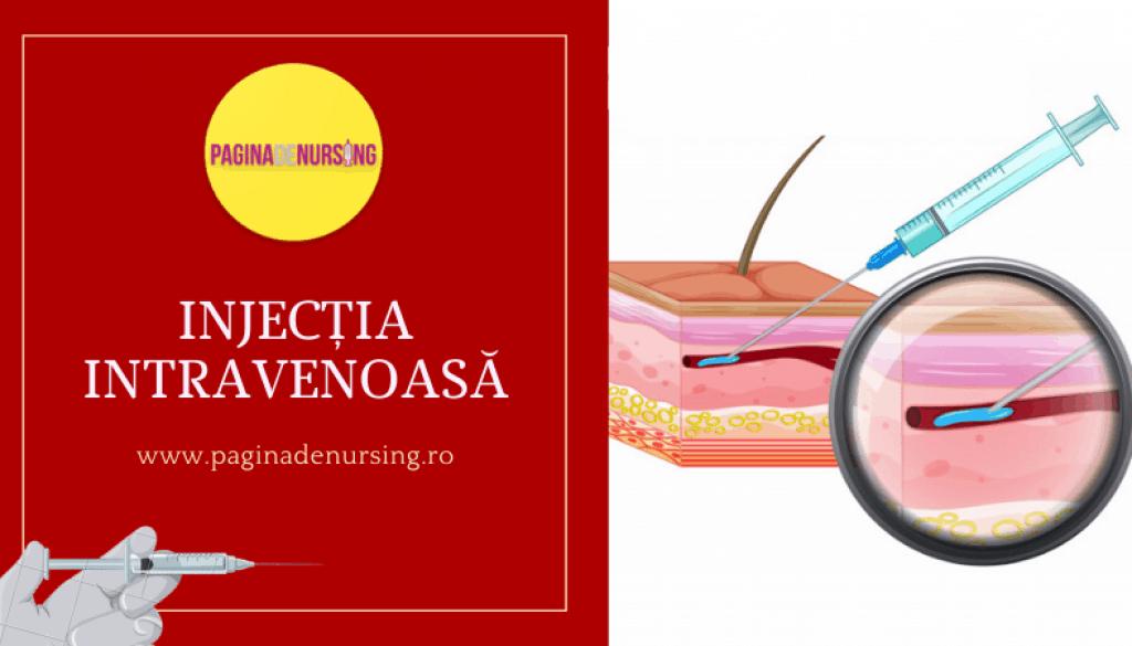 INJECTIA INTRAVENOASA PAGINA DE NURSING