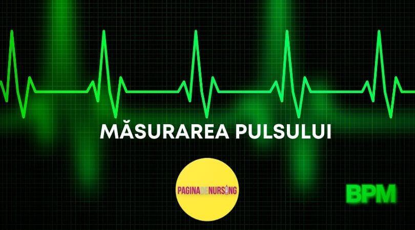 MĂSURAREA PULSULUI amg tehnica pagina de nursing