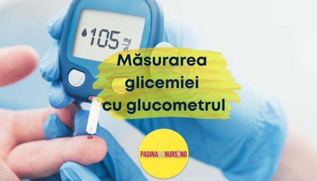 masurarea glicemiei cu glucotestul pagina de nursing punctia capilara diabet
