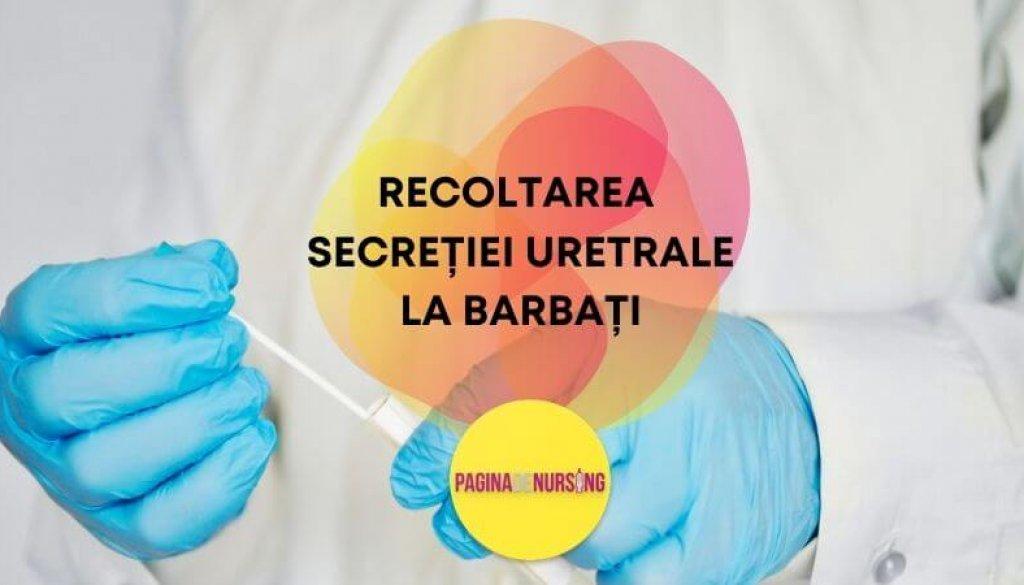 recoltarea secretiei uretrale la barbat paginadenursing amg asistenti tehnica