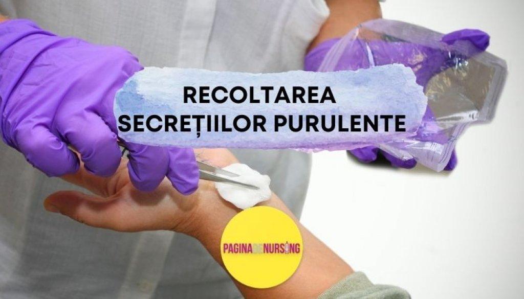 recoltarea secretiilor purulente paginadenursing tehnica asistenti medical amg