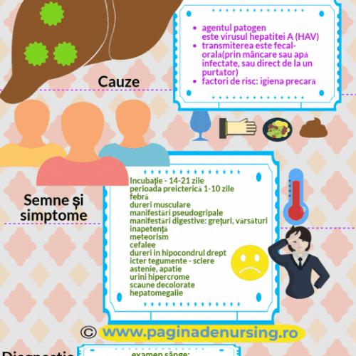 hepatita virală acută a pagina de nursing