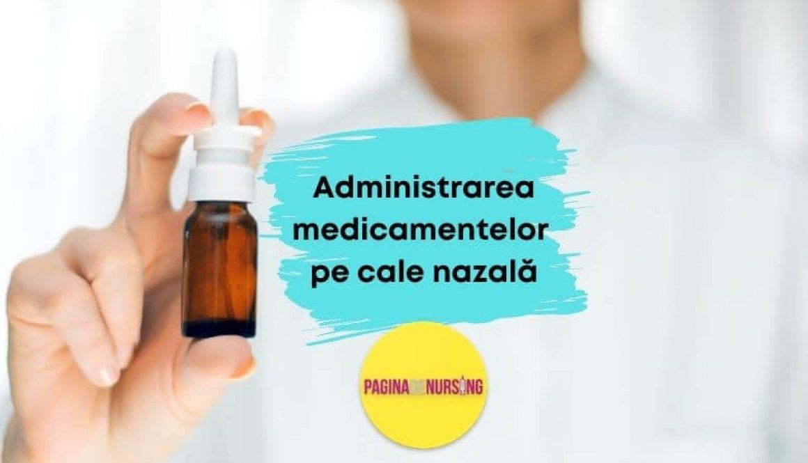 administrarea medicamentelor pe cale nazala pagina de nursing tehnici amg asistenti medicali