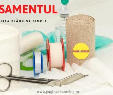 pansamentul ingrijirea plagilor