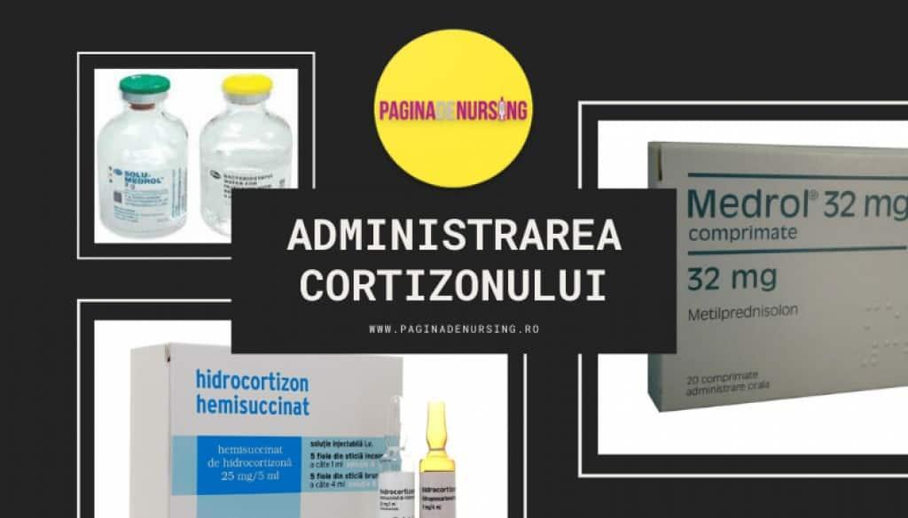 administrarea cortizonului amg