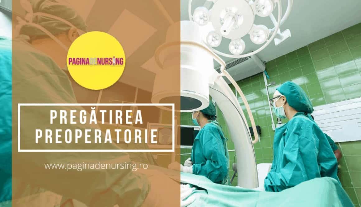 pregatrirea preoperatorie a pacientului amg