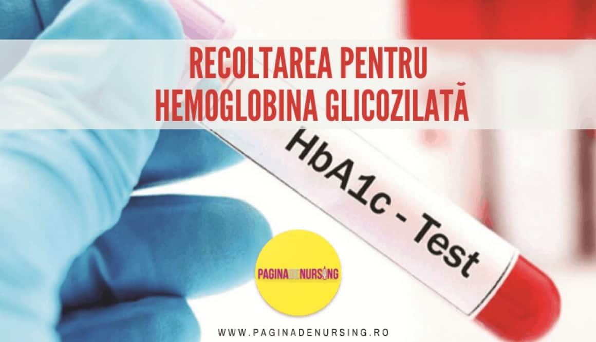 HEMOGLOBINA GLICOZILATA RECOLTARE