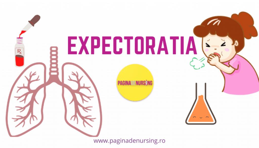 expectoratia pagina de nursing