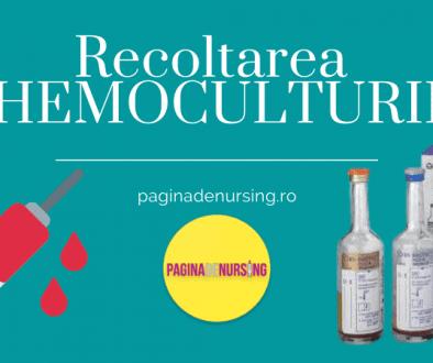 recoltarea hemoculturii