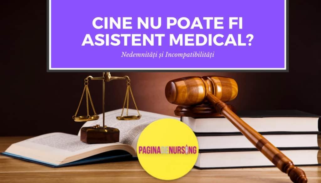 cine nu poate fi asistent medical in romania
