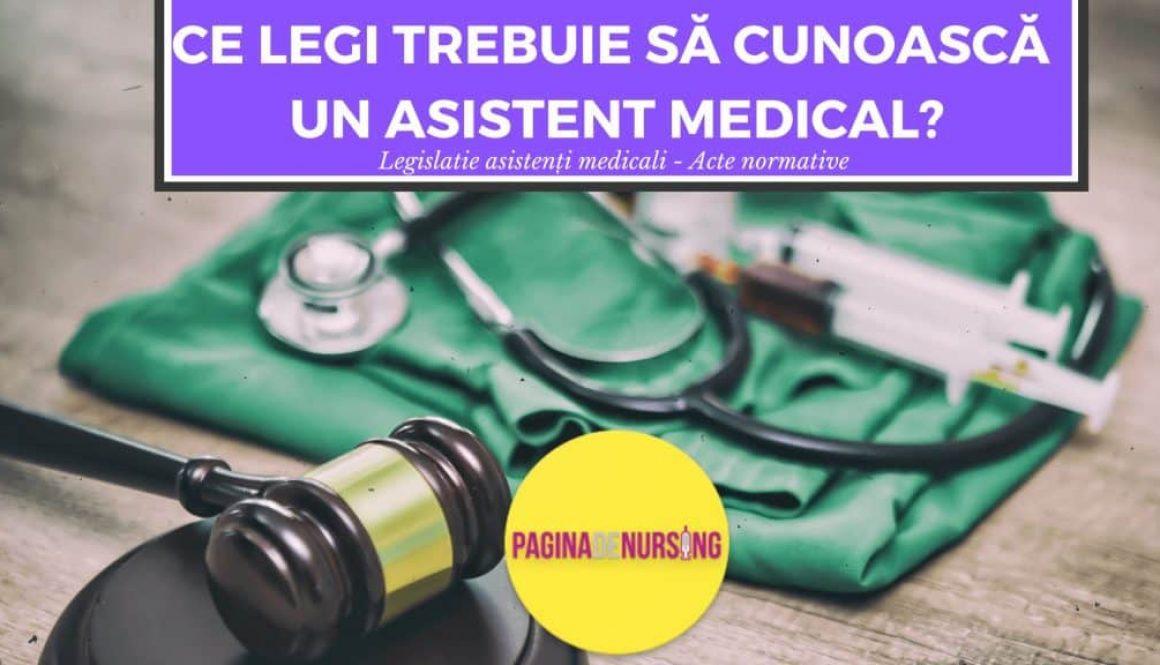 legea asistentilor MEDICALI PAGINADENURSING