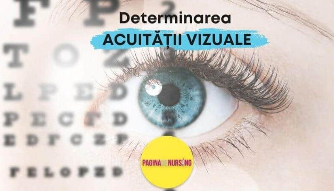 determinarea acuitatii vizuale paginadenursing oftamologie tehnici asistenti medicali