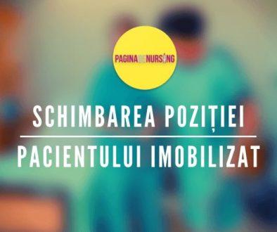 schimbarea pozitiei pacientului imobilizat