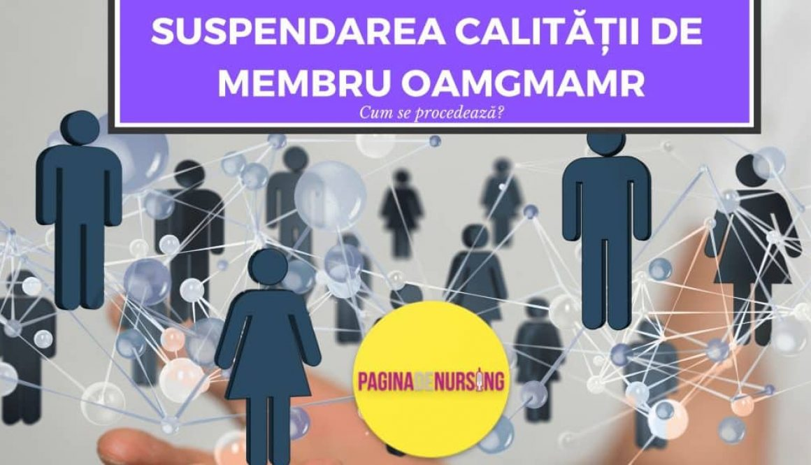 suspendare calitate membru oammr