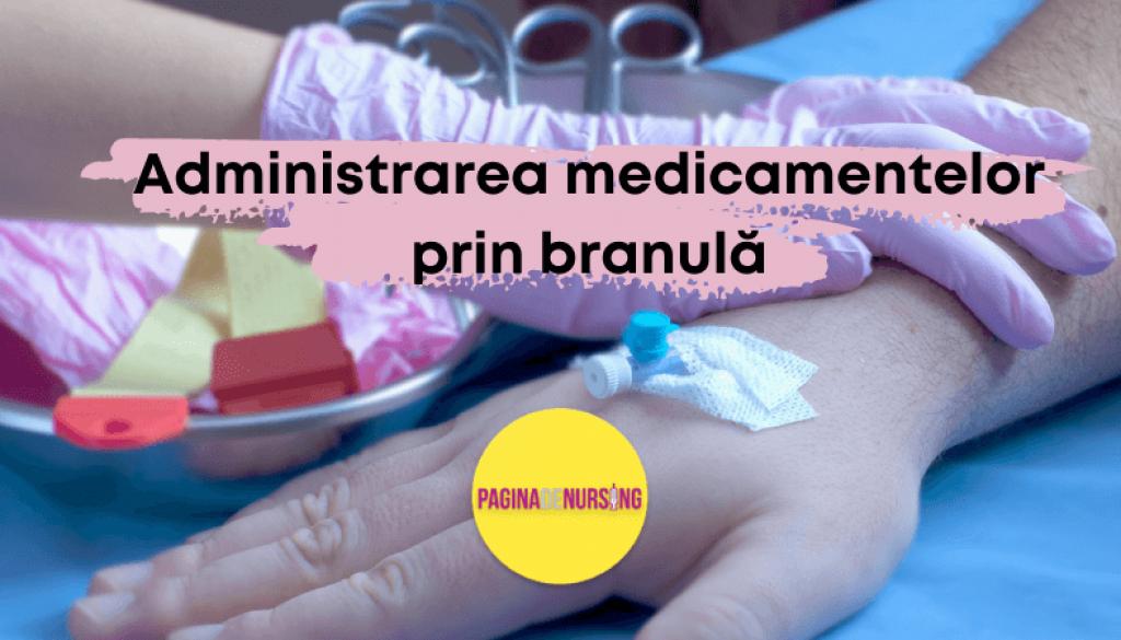 administrarea medicamentelor prin branula pagina de nursing (1)