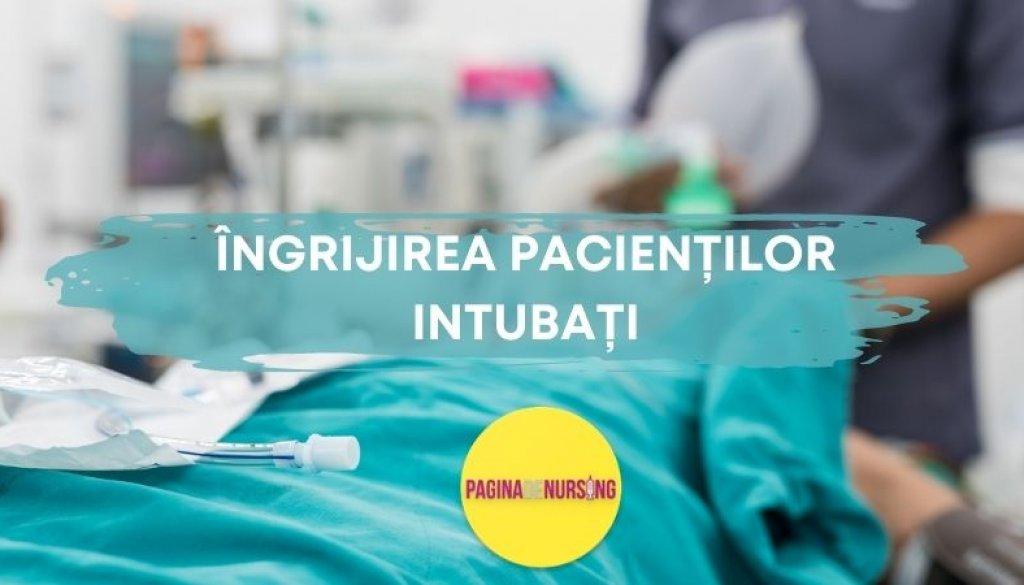 îngrijirea pacienților intubați paginadenursing